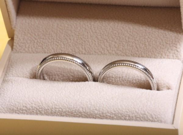 밀그레인 반지