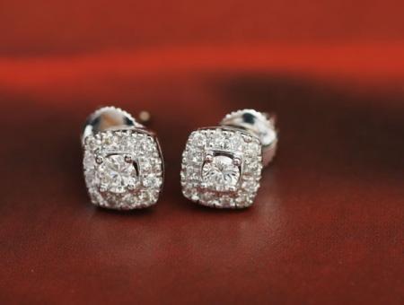 다이아몬드귀걸이